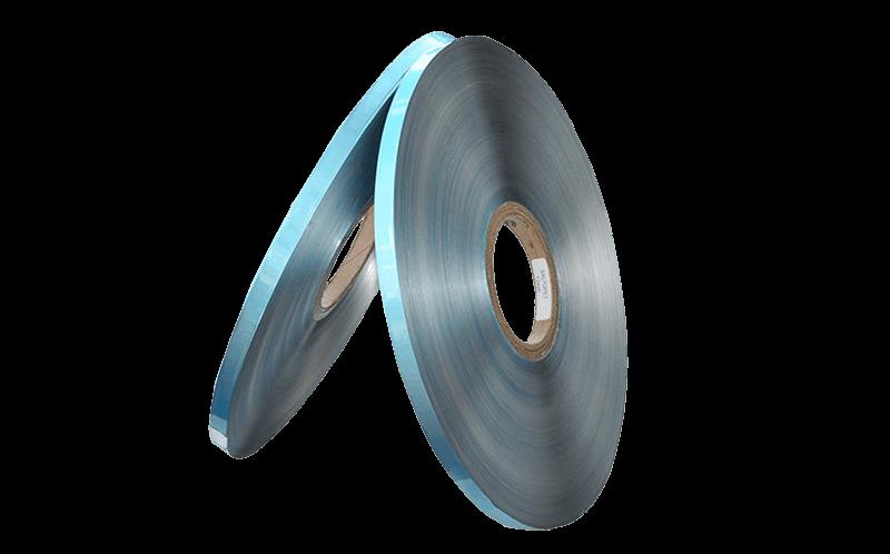 Material de película de mylar PET de aluminio de un solo lado de 0.021 mm para conductos de aire flexibles