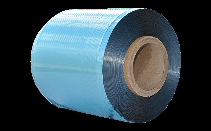 Cinta de película PET de aluminio de un solo lado de 0.025 mm Material rebobinado por carrete