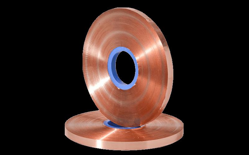 Cinta de cobre de 0,1 mm para cable